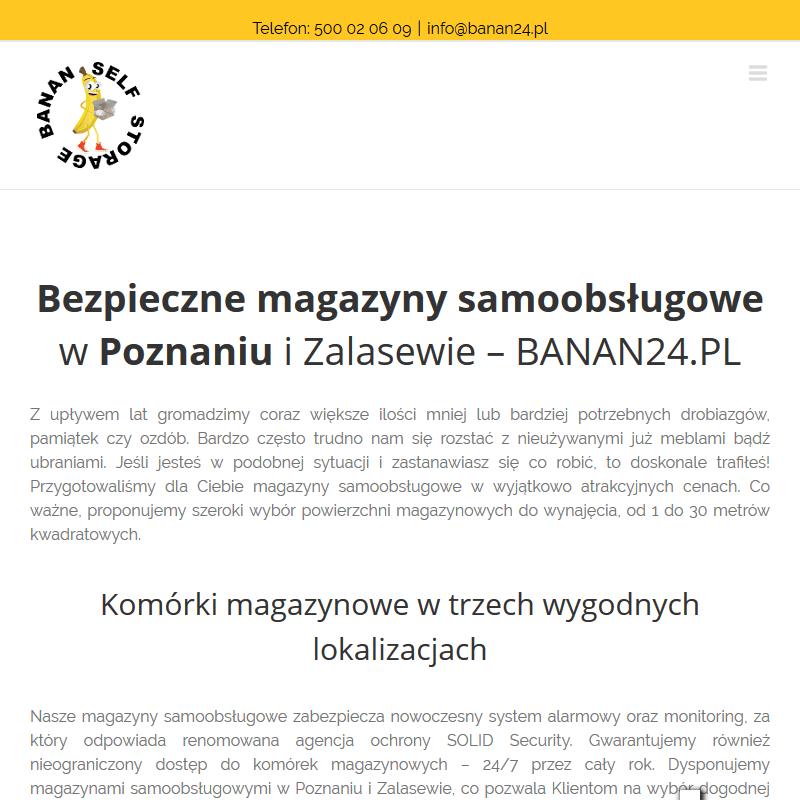 Poznań - magazyn poznań wynajem