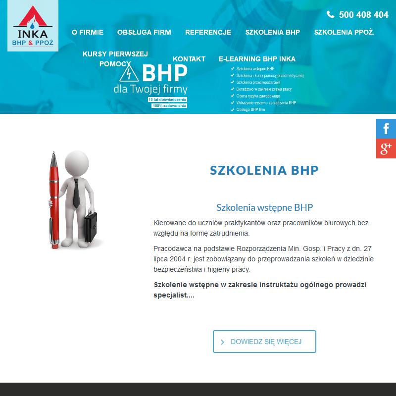 Usługi bhp - Tychy