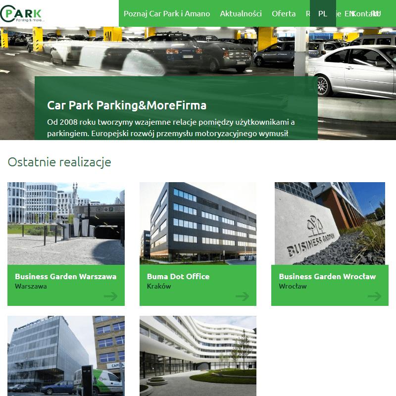 Poznań - szlabany magnetic parking pro