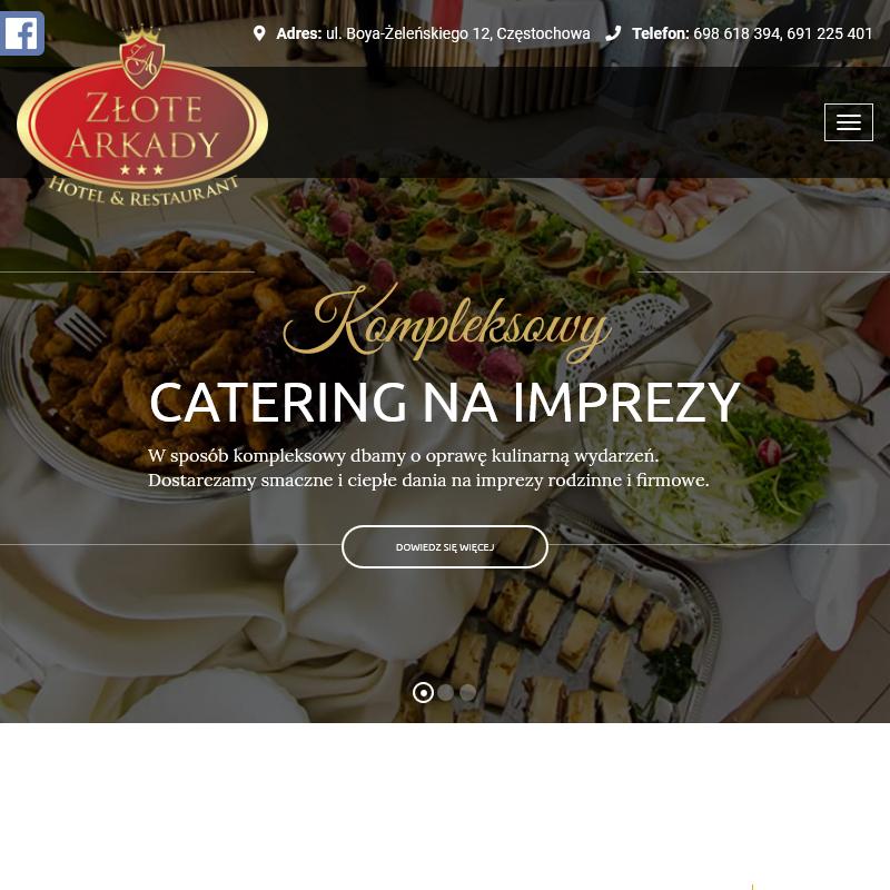 Zawiercie - catering komunijny