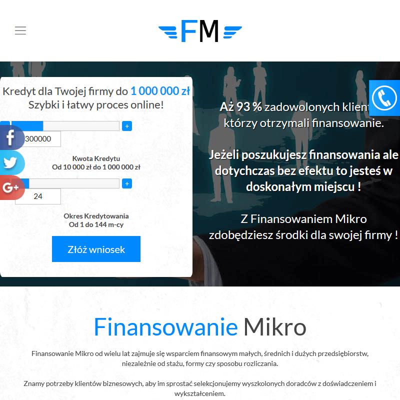 Warszawa - finansowanie dla firmy