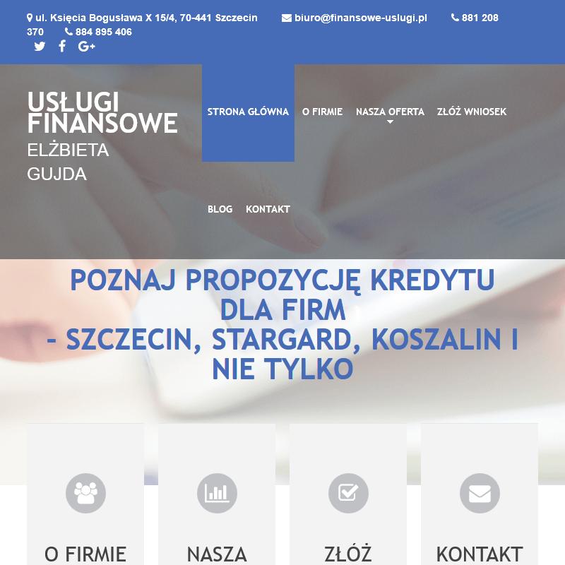 Kredyt konsolidacyjny Szczecin
