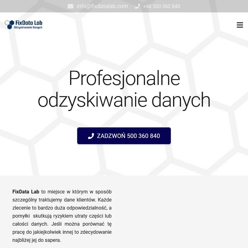 Warszawa - odzyskiwanie danych z karty sd