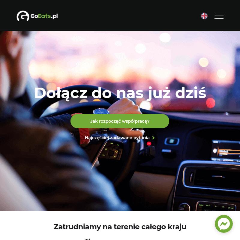 Dostawca uber eats - Gdańsk