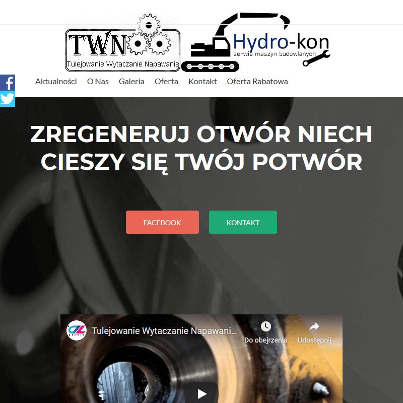 Regeneracja otworów - Warszawa