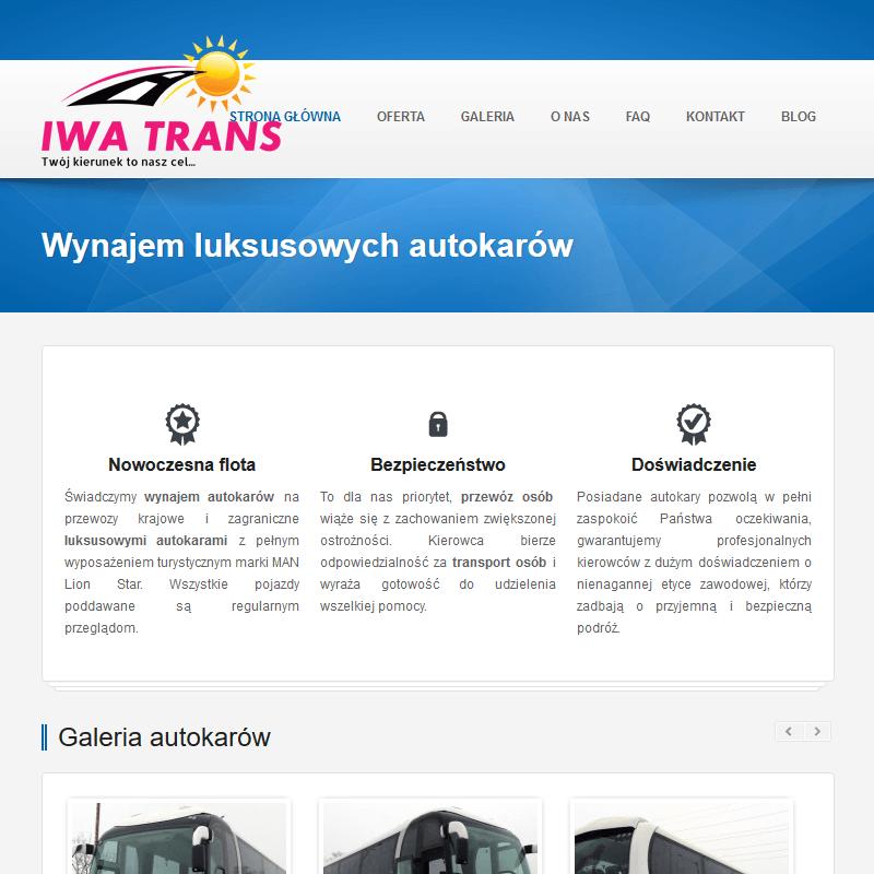 Autokar z toaletą łódź w Łodzi