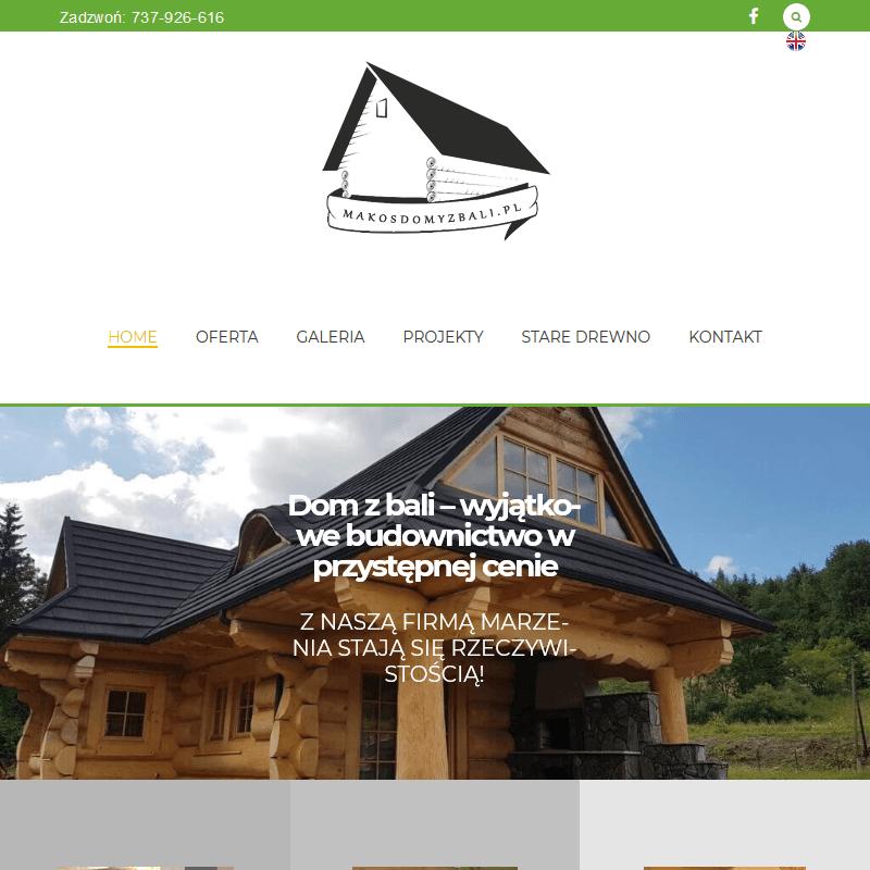 Budowa domów z bali