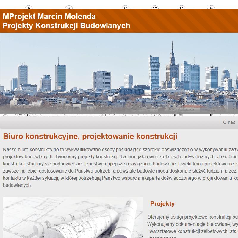 Warszawa - projektowanie konstrukcji