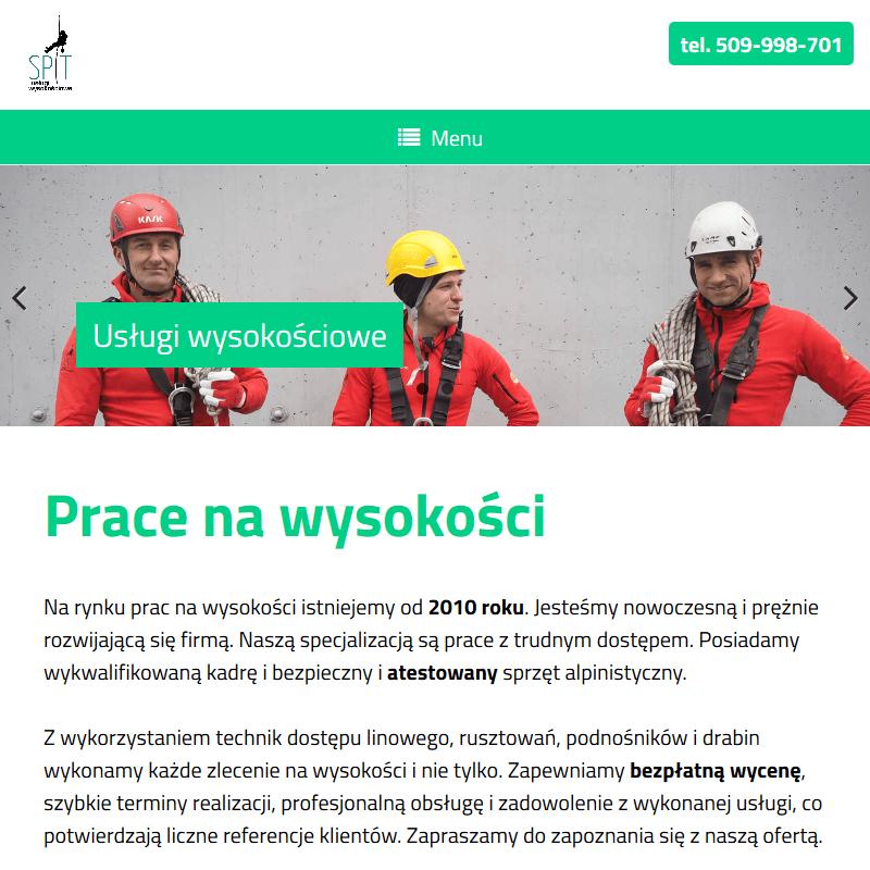 Prace alpinistyczne Kraków