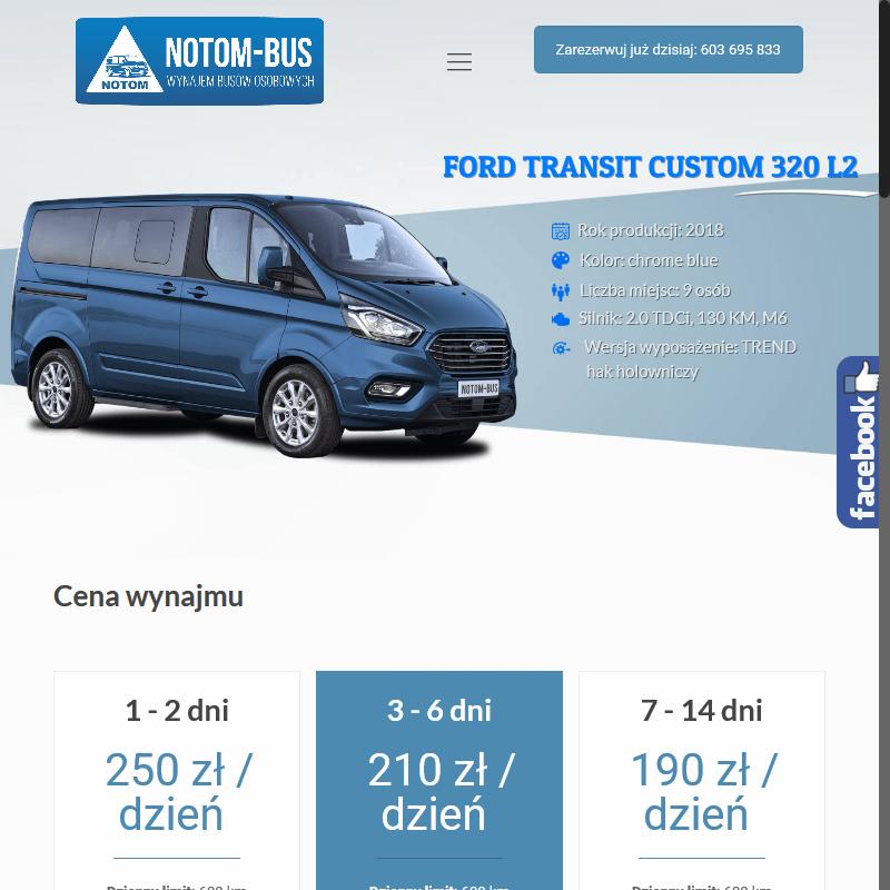 Wypożyczenie busa - Gostyń