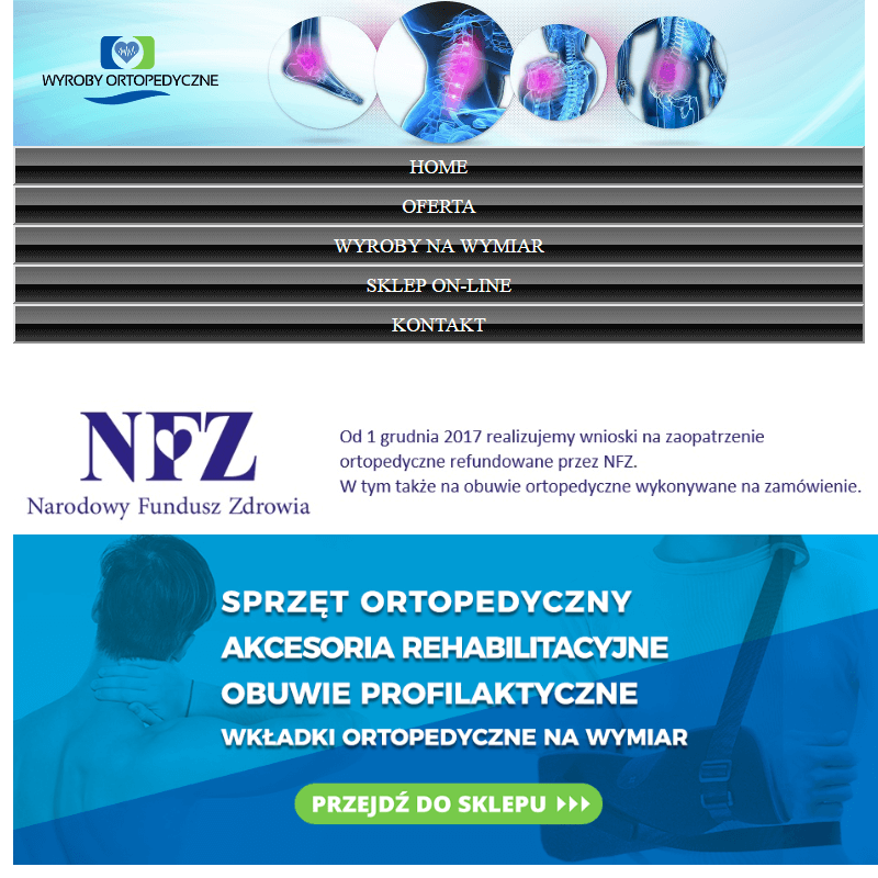 Gdańsk - buty ortopedyczne na miarę