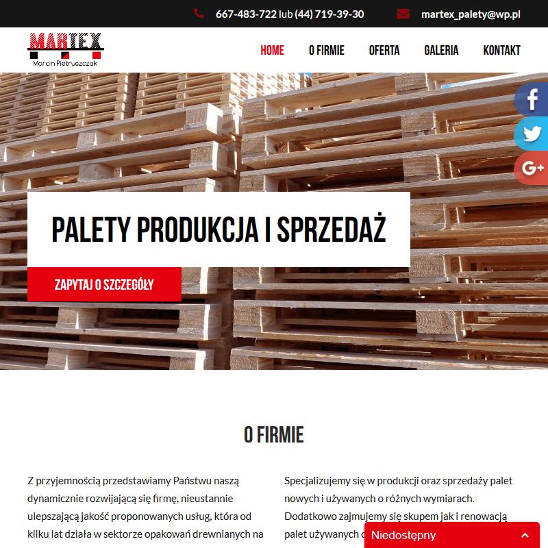 Palety używane w Łodzi