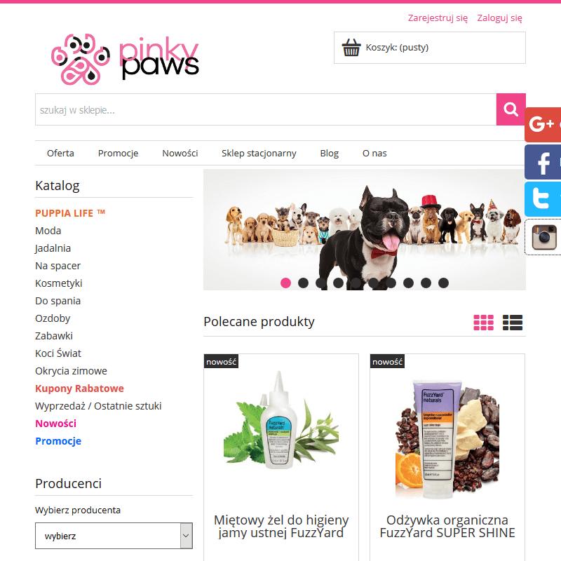 Sklep dla zwierząt łodź w Warszawie