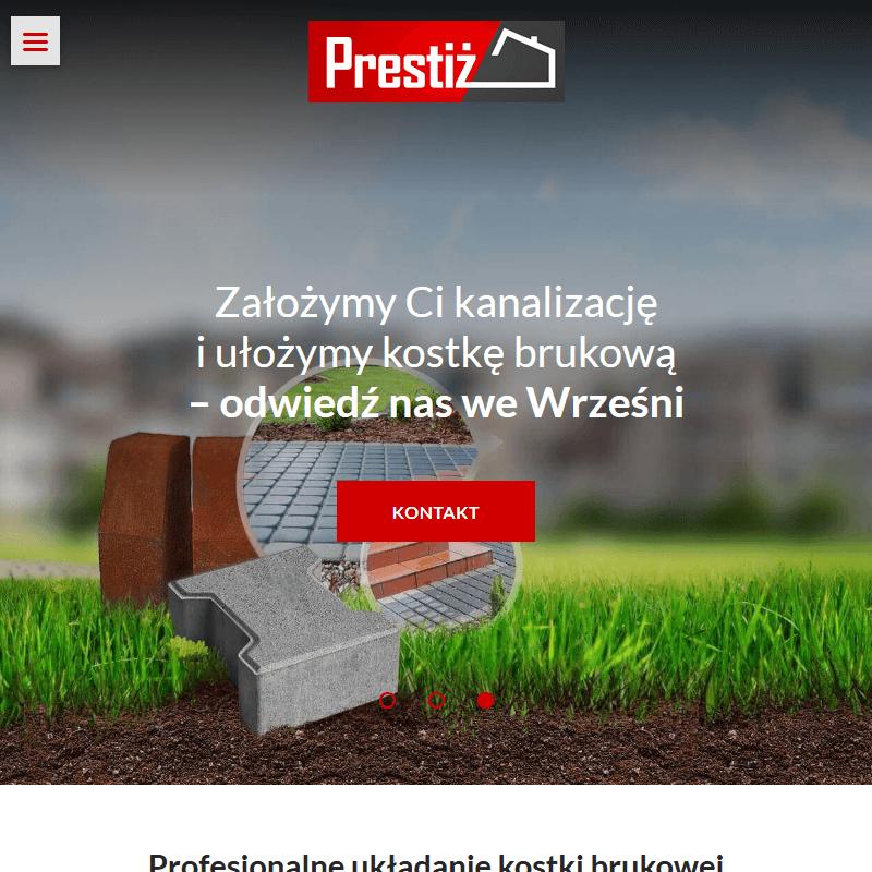Układanie kostki brukowej środa Wielkopolska - Słupca