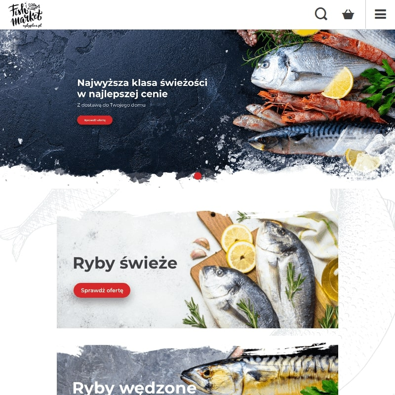 Świeże ryby z dostawą do domu