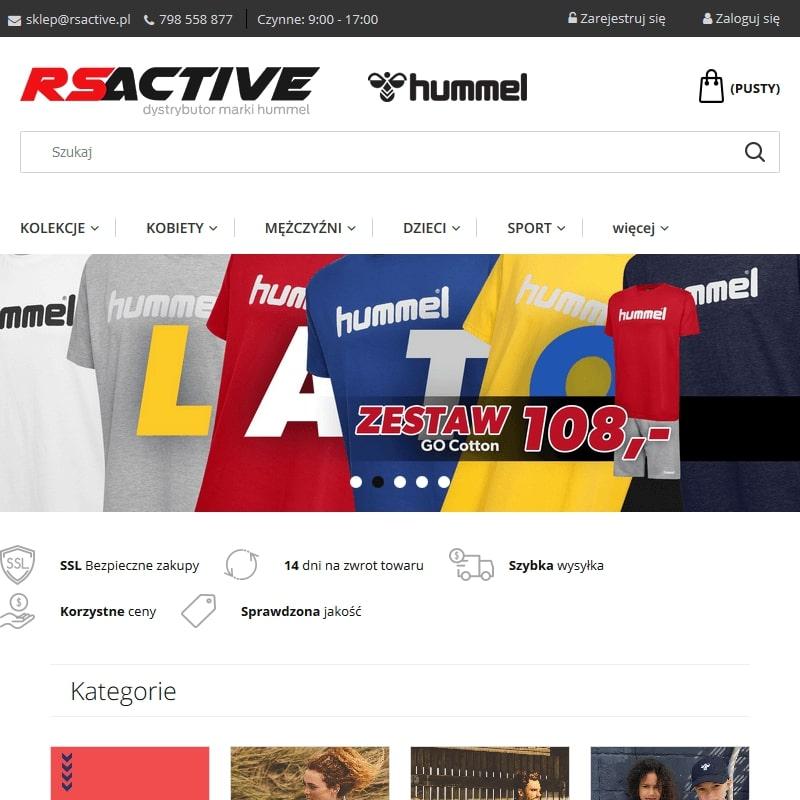 Kielce - dresy dla piłkarzy ręcznych hummel