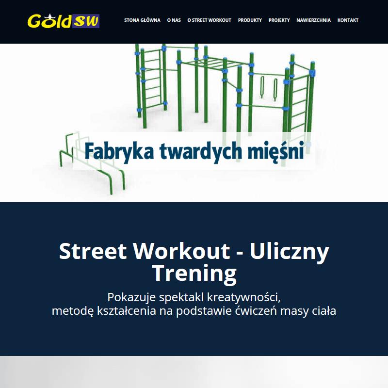 Plac do street workout