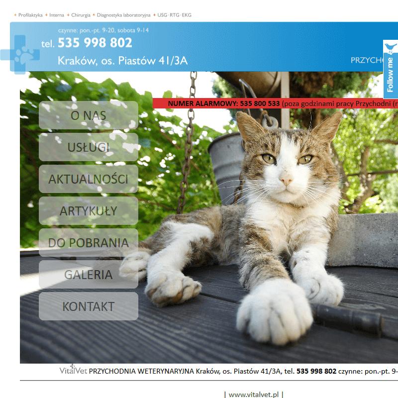 Klinika dla zwierzaków w Wieliczce